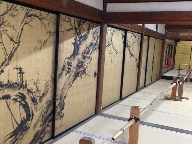 ふすま絵_大通寺