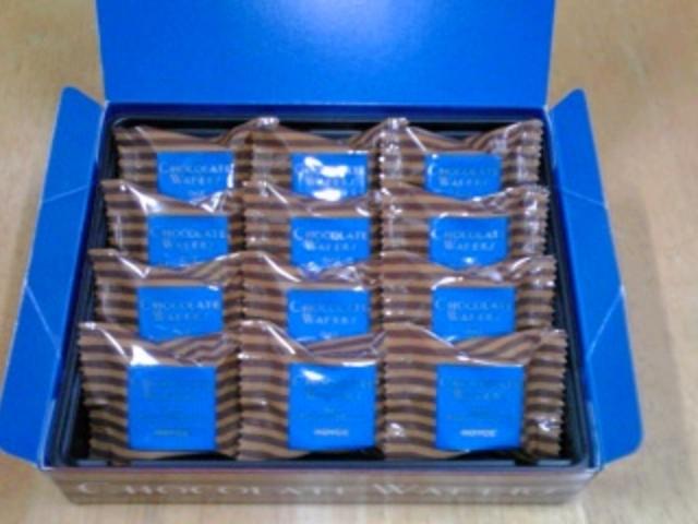 ロイズ チョコレートウエハース「ヘーゼルクリーム」12個入_ロイズあいの里公園店