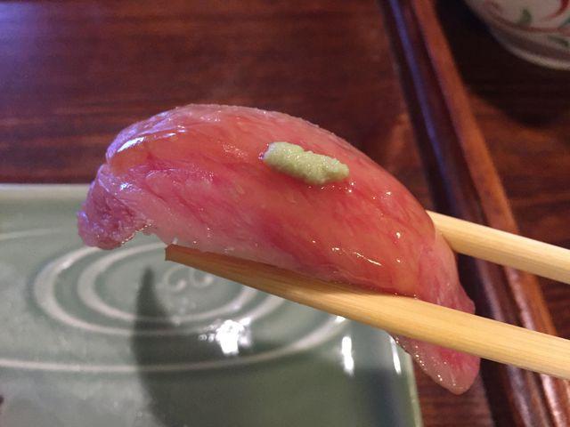 プレミアム飛騨牛握り寿司_御食事処 坂口屋
