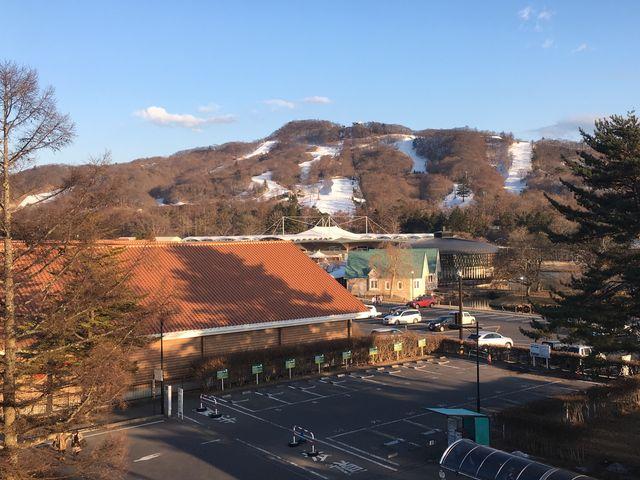 軽井沢駅からのプリンススキー場。_軽井沢