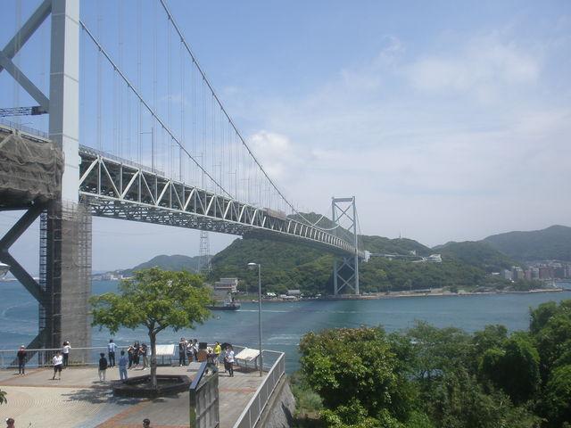壇ノ浦PAからの眺め_関門橋