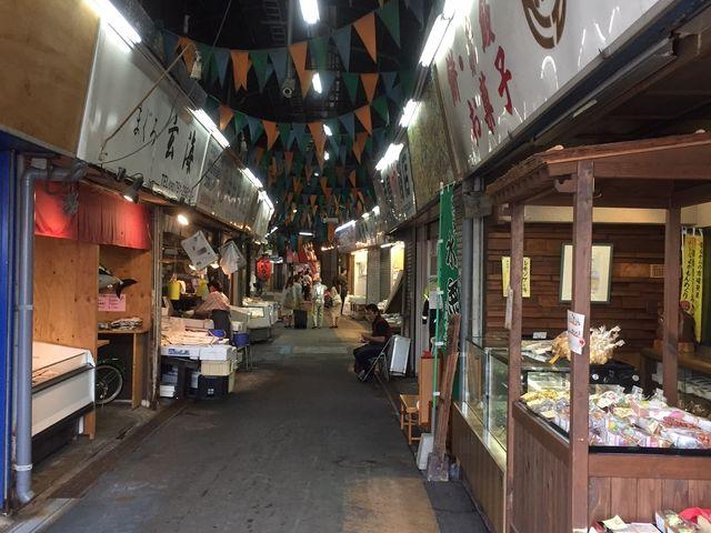 平日午前中_柳橋連合市場