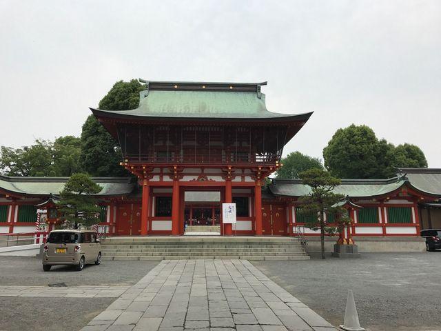 熊本の八幡神社_藤崎八旛宮