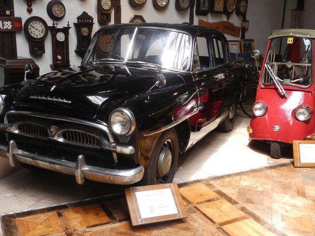 初代クラウンと、日本初の電気自動車_福山自動車時計博物館