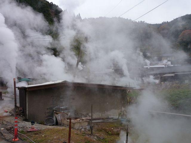 岳の湯温泉 蒸気郡