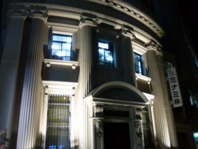 美しい外観の建物です_ミナミ株式会社旧川崎貯蓄銀行福島出張所