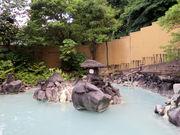 夏の暑い日の温泉も気持ちいいです_霧島温泉郷