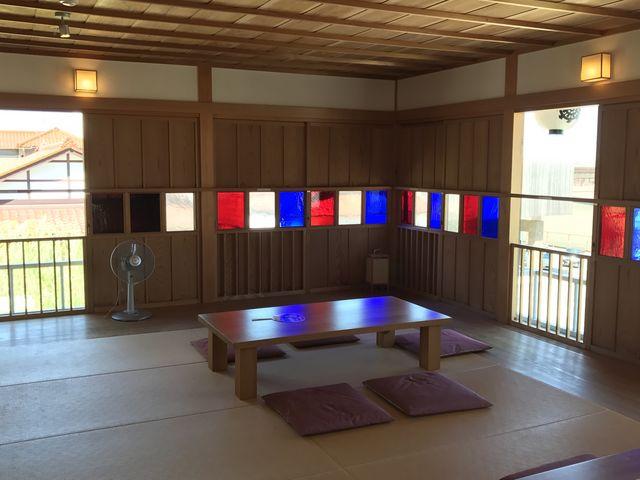 古総湯の二階の休憩所_山代温泉