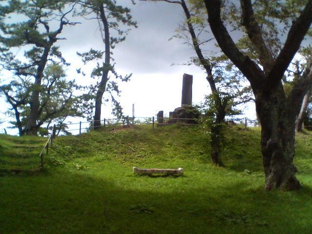檜山城3_檜山安東氏城館跡・檜山城跡