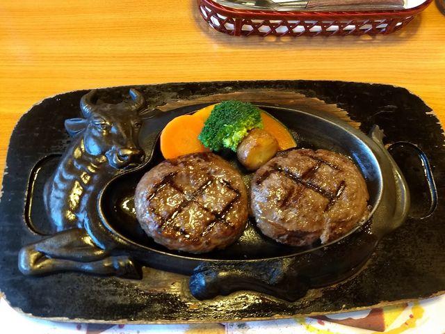 定番「げんこつハンバーグ(250g)」_炭焼きレストラン さわやか 静岡池田店