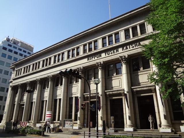 ヨーロッパのビルのようです_横浜郵船ビル