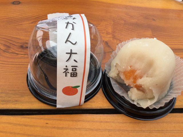 みかん大福_旬菓庵かどや   とれとれ市場店