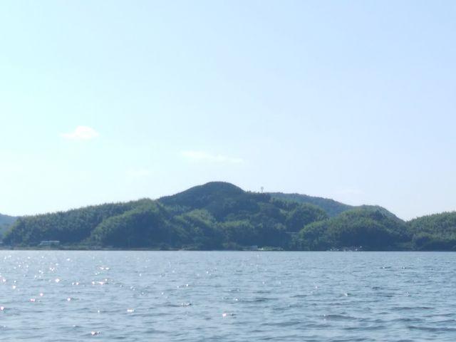 女神様のバストらしいです_加茂川・中海遊覧船