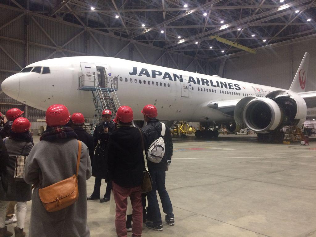 JAL 工場見学 Sky Museum