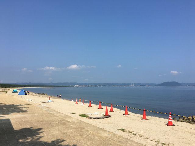 写真①_浜崎海水浴場