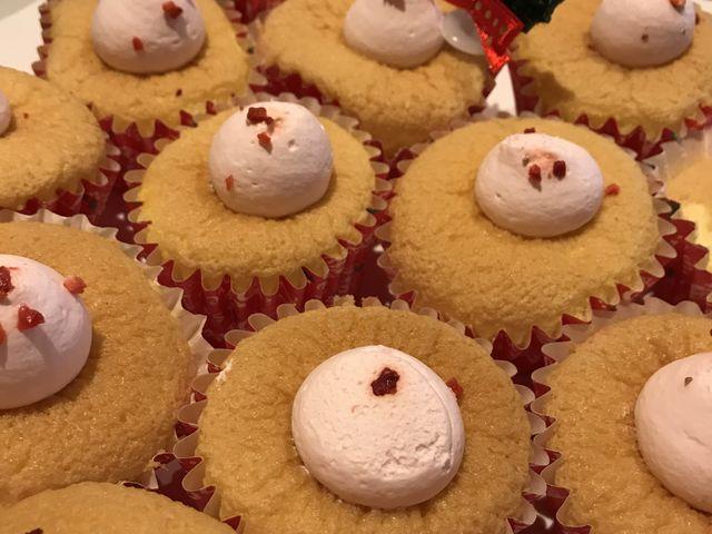 かわいいカップケーキ、でも、食べる気にはならなかった。_ヒルトン小田原リゾート&スパ