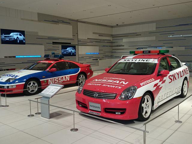 数ある日産車の展示のひとつ_日産グローバル本社ギャラリー