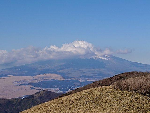 駒ヶ岳山頂からの富士山2_駒ケ岳