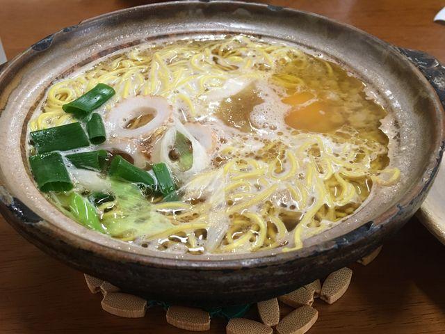 なべ焼きラーメン_橋本食堂