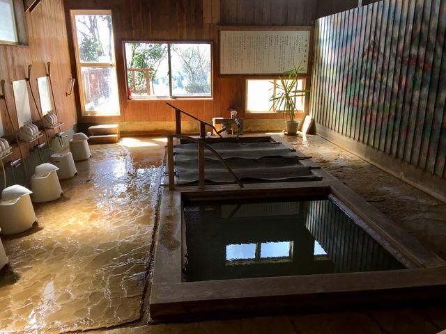 長湯温泉「水神之森」のお風呂。_長湯温泉