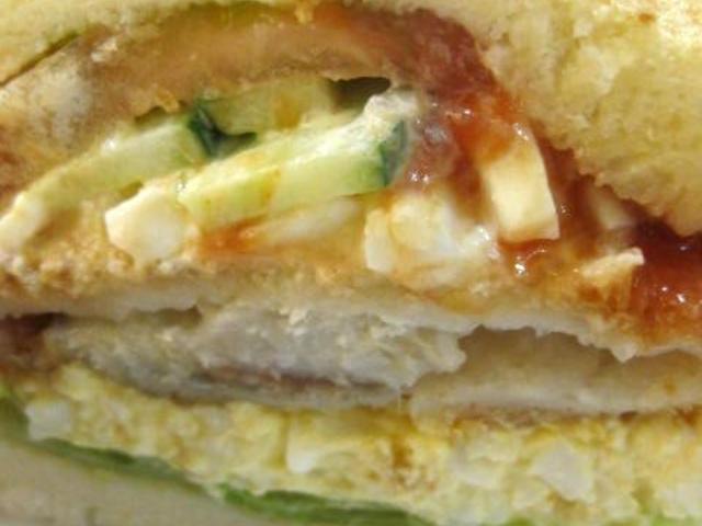 ●フィッシュ&エッグ/大好きな組み合わせ。_Sandwich Factory OCM