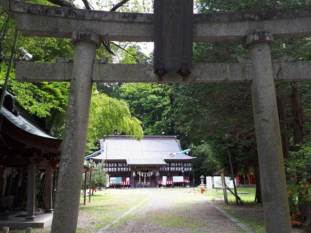 鳥居_志賀理和気神社(赤石神社)