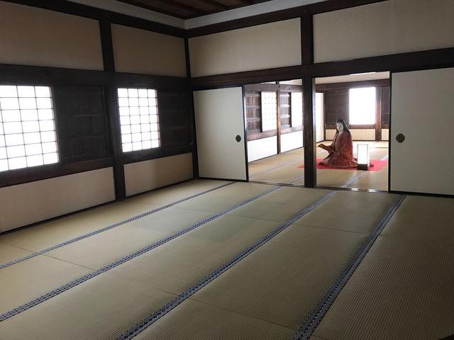 千姫像_姫路城化粧櫓