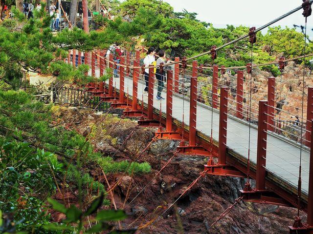 つり橋_城ケ崎つり橋(はしだて)