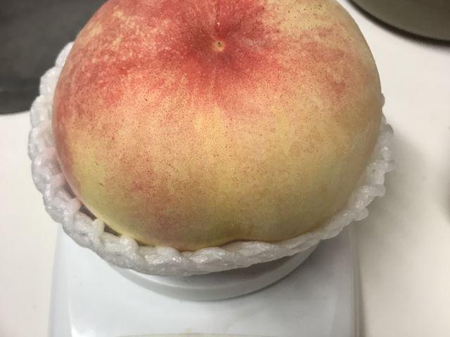 700gの桃です。お土産の桃でこの大きさは初めてです!_金原園
