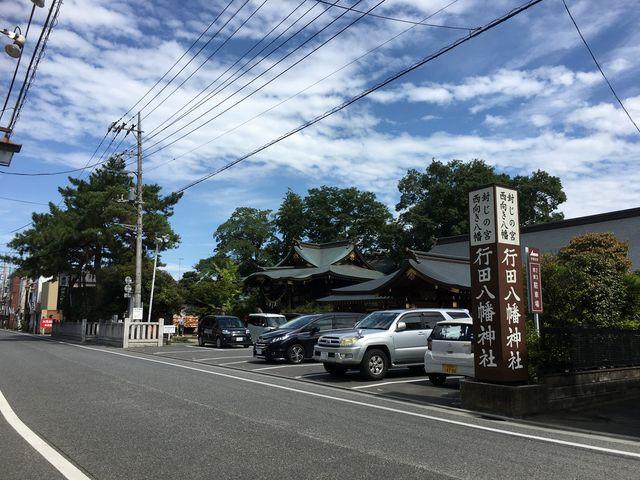 神社の全体_行田八幡神社