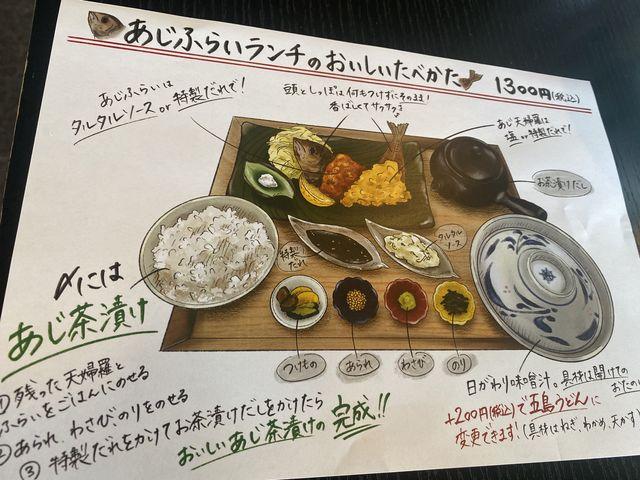 食べ方の説明が分かりやすい!_ホテル長崎