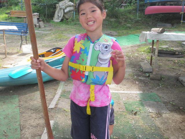 お子様用ライフジャケット(かわいいデザインが沢山)_カヌーリゾートたまよど
