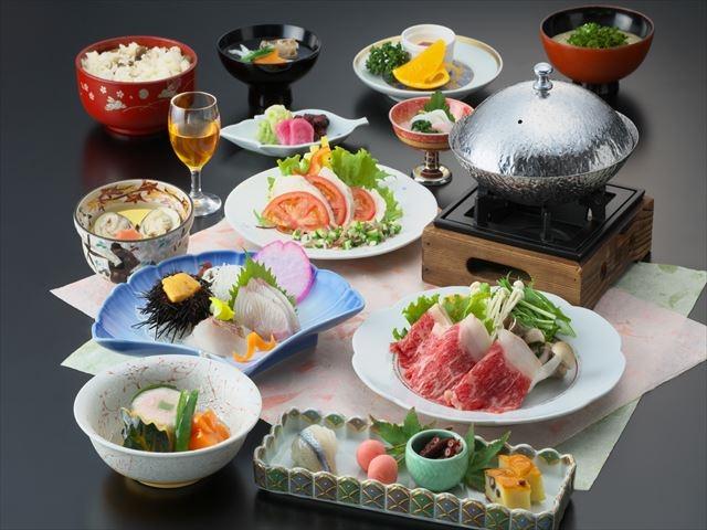 会席料理「桜」※一例_にっしょうかん別邸紅葉亭