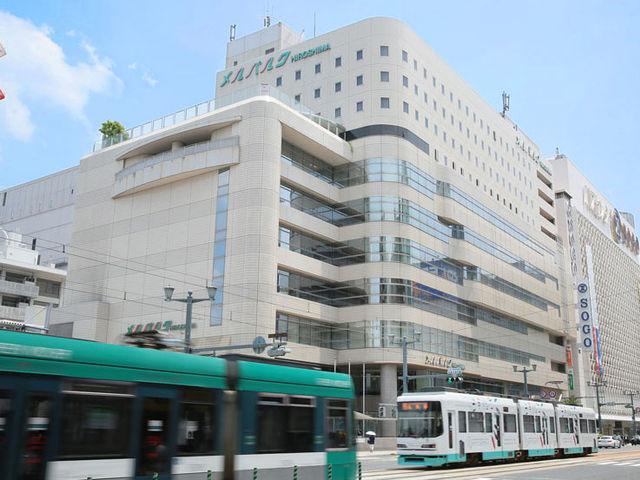 バスセンター直結の好立地_ホテルメルパルク広島