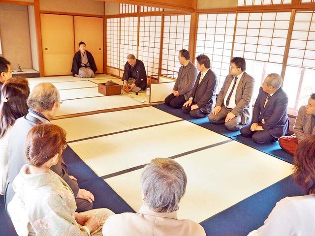 茶会_Japanese culture Precious wood in Kyoto