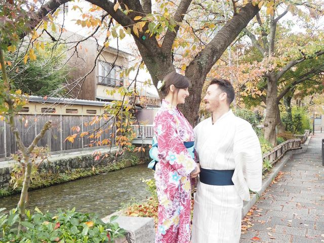 浴衣_Japanese culture Precious wood in Kyoto