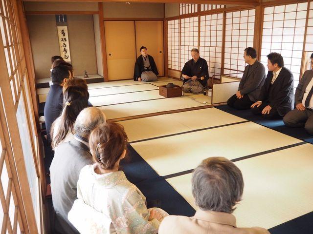 茶会_Japanese culture Precious wood in Osaka