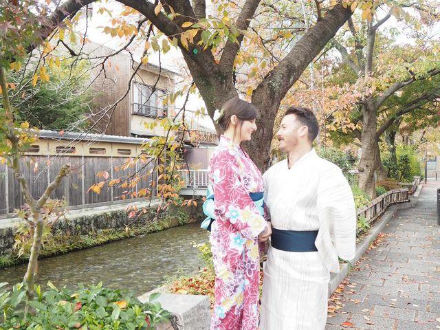 浴衣_Japanese culture Precious wood in Osaka