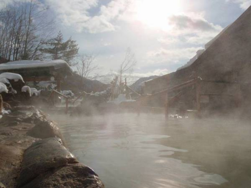 やわらぎの里 豊平峡温泉
