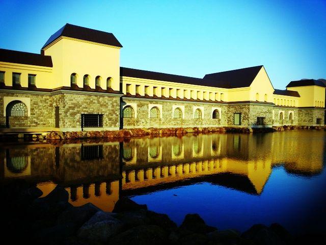 夢の中のお城のような外観_諸橋近代美術館