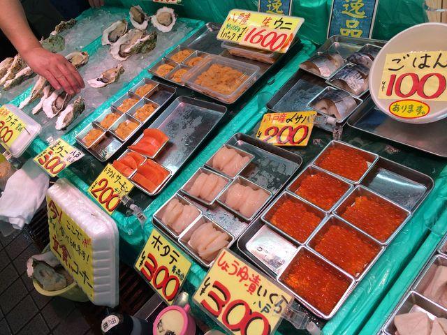 たくさんの海鮮_八食センター