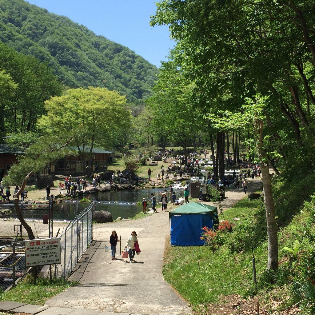 新東北笹谷渓流釣り