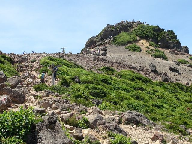 安達太良山山頂_安達太良山