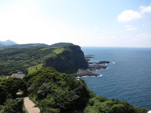 大バエ灯台からの景色_生月島