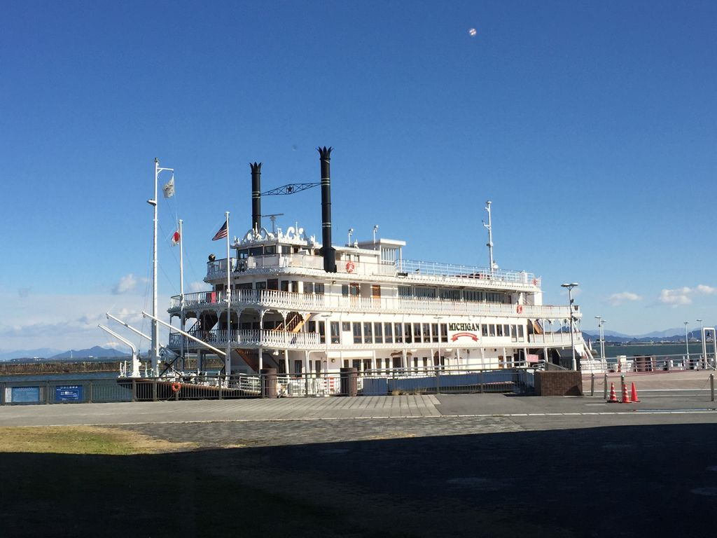 外輪船ミシガン