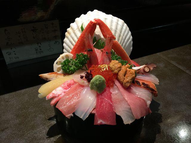 海鮮丼_近江町市場