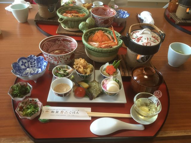 加賀蟹ご飯_加賀料理ばん亭