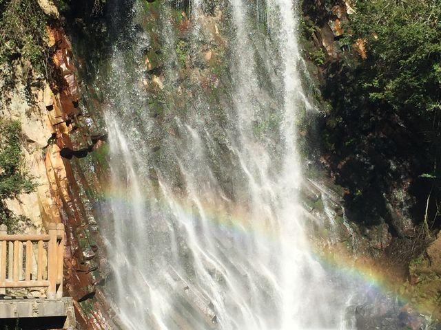 虹が出来てた!_丸尾滝