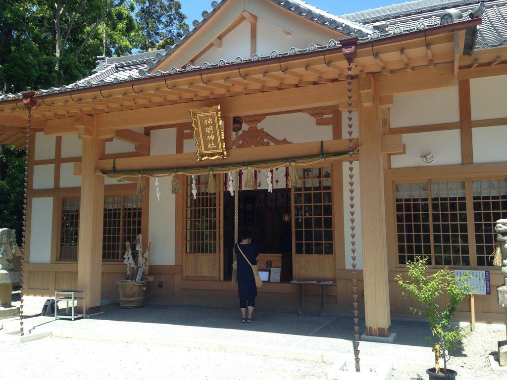 神明神社と石神さん