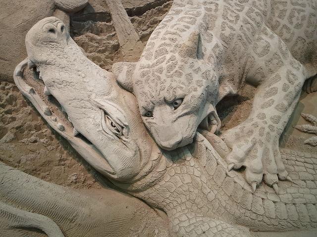 砂の美術館_鳥取砂丘 砂の美術館